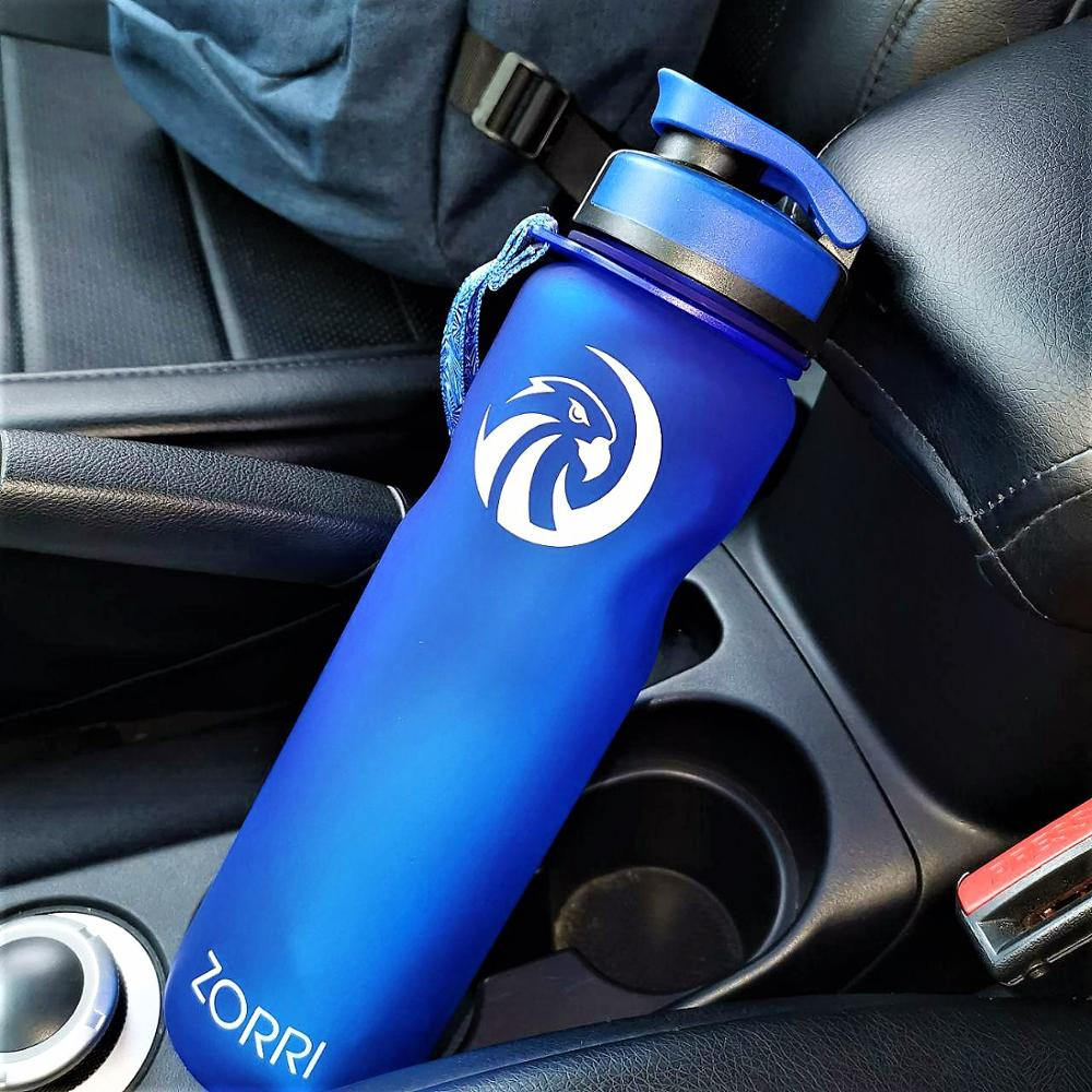 ZORRI Water For Bottle Shaker Protein Sports BottlesTourism And Camping Outdoor Cycling Leak Proof Fashion Health  Water+Bottles|Water Bottles|   - AliExpress