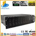3U Rack HEVC H.265 HDMI видео кодировщик MPEG4 H.264 потоковый энкодер для IPTV потоковая передача и т. Д.