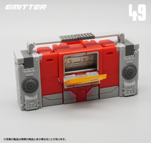 Image 3 - 변환 mft MF 49 MF49 블래스터 그림 장난감 레코더 모델 액션 피규어 변압기 완구 G1