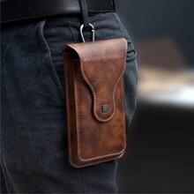 Зажим для ремня, чехол для телефона, мобильный телефон, сумка 2 Pouchs для Samsung Note 10Plus 9 8 для iPhone 11 Pro Max XS Max 6 7 8 plus