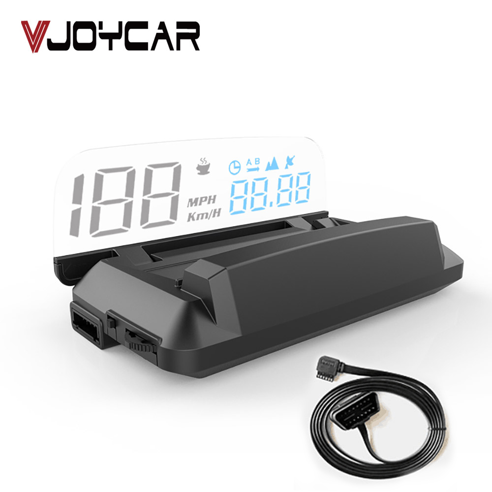 Updated Version OBD Car Head Up Display Car Electronics HUD Display Digital Speed Projector Overspeed Warning GPS Speedometer