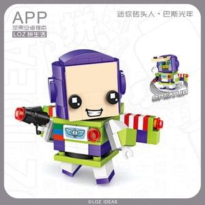 Image 2 - Mini klocki LOZ zabawka z klocków śnieżka lalka księżniczka dziewczyna postać figurki montaż budowlany klocki zabawkowe edukacyjne