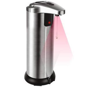 Automatic Soap Dispenser Infrared Touchless Motion Bathroom Dispenser Sensor Liquid Stainless Steel Soap Dispenser