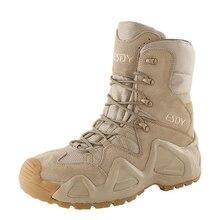 Nam Sa Mạc Chiến Thuật Quân Đội Giày Nam Ngoài Trời Chống Thấm Nước Đi Bộ Đường Dài Giày Sneakers Nữ Chống Trơn Trượt Đeo Thể Thao Giày Leo Núi