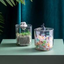 Прозрачный акриловый Органайзер конфетный контейнер держатель