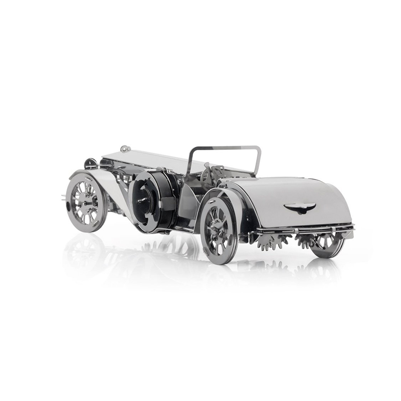 Nouveau modèle de Puzzle en métal bricolage 3D élégant Cabrio avec entraîné par un ressort mécanique travaux coupés assembler des cadeaux de jouet de Puzzle offre spéciale