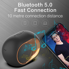 Portable Bluetooth 5.0 Speaker Wireless Stereo Bassup TWS Speaker Supports Cards U-disk AUX FM Play for Outdoor Home Travel K888