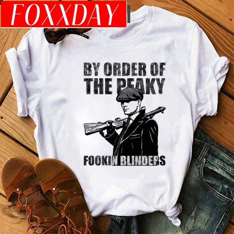 Peaky 블라인더 T 셔츠 남성 재미 있은 만화 2020 하라주쿠 그래픽 티즈 남성 힙합 멋진 Streetwear 90s 패션 티셔츠 남성