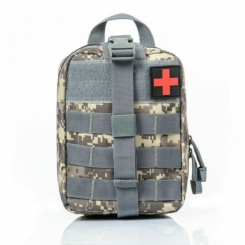 First Aid Medical Emergency Kit Carry Bag Pouch Camping Car Home Survival Molle Rip Away EMT Medic IFAK First Aid Kit Bag