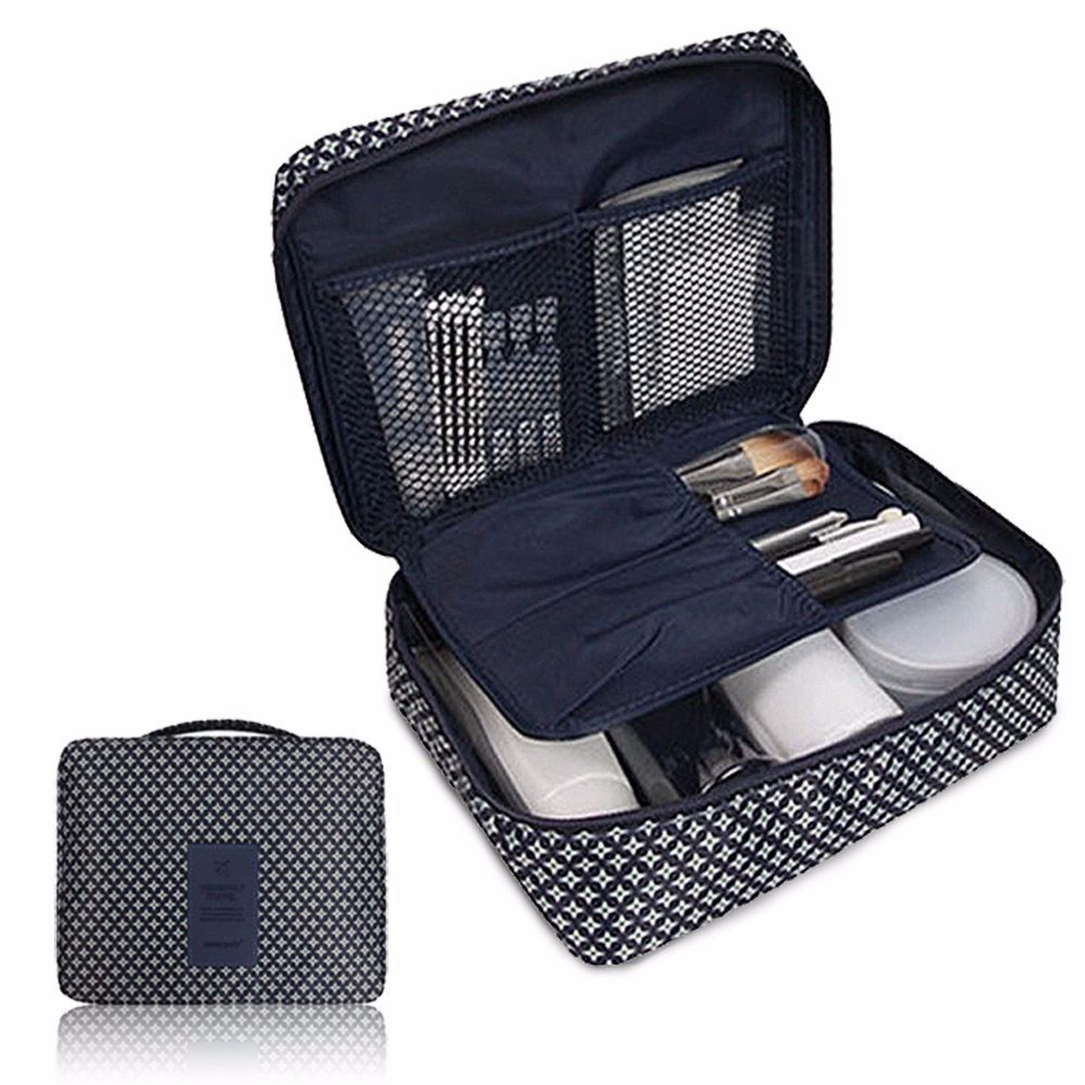 Travel Storage Box For Digital Data Cable Charger Headphone Portable Mesh Sponge Bag Power Bank Holder Cosmetic Box 819