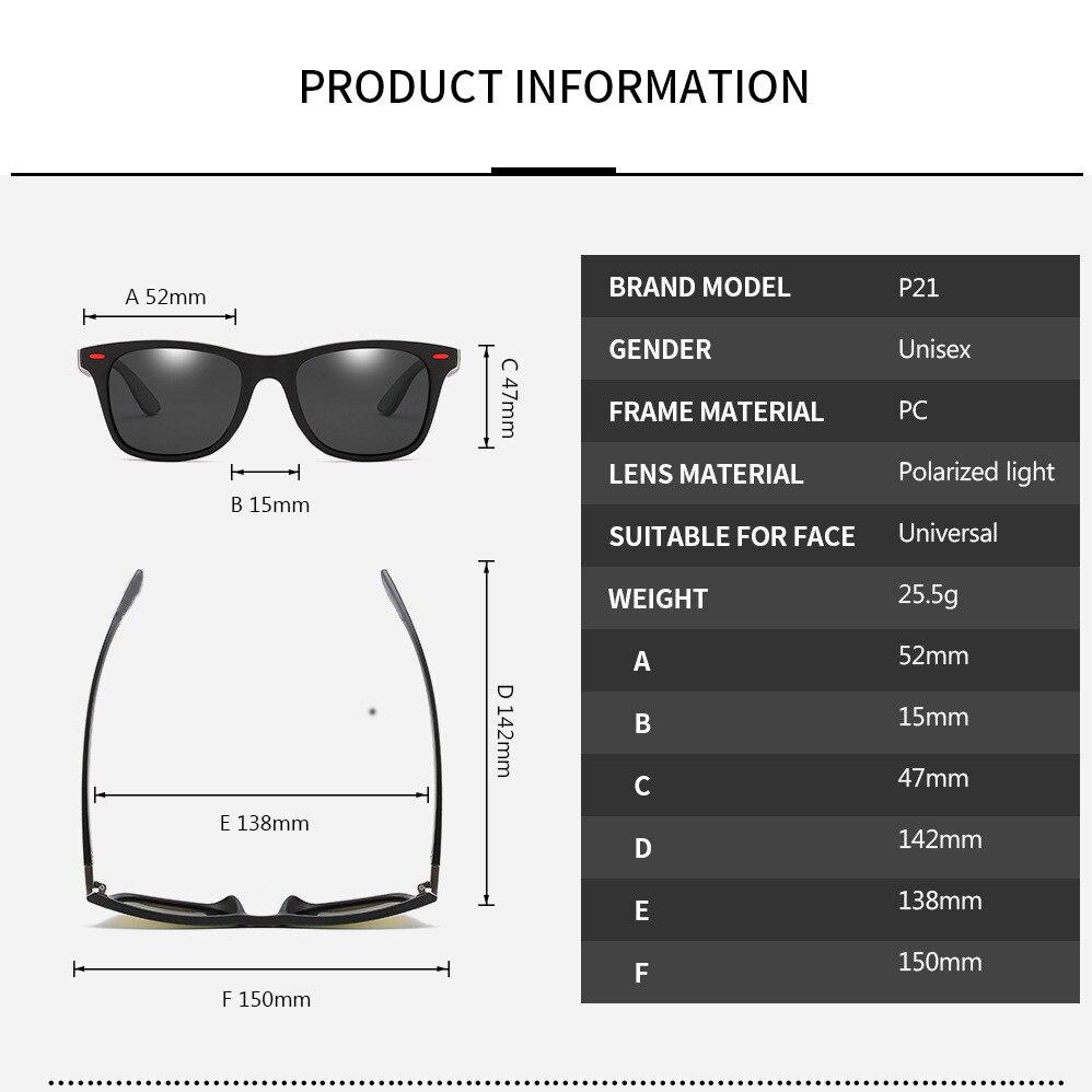 2019 NEW DESIGN Brand Design Polarized Sunglasses Men Women Driving Square Style Sun Glasses Male Goggle UV400 Gafas De Sol in Men 39 s Sunglasses from Apparel Accessories