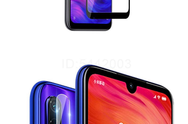 2 in 1 Tempered Glass Camera Lens Protector For Redmi And Xiaomi Glass Film 10