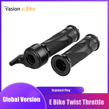 Pasion E rower Twist przepustnicy dla rower elektryczny przepustnicy 24V-72V e-bike eBike przepustnicy elektryczne części rowerowe 140CM tanie tanio pasion e bike CN (pochodzenie) Twist Throttle 12v 24v 36v 48V 60V 72V Compatible Ebike Electric Bicycle Scooter E Bike Twist Throttle Electric Bike Throttle