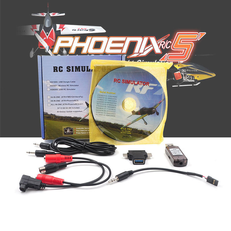 RC Simulator Flight Wireless USB RealFlight Freerider 8 In 1 For Flysky I6x FUTABA Radiolink AT9s AT10 RC Helicopter Transmitter