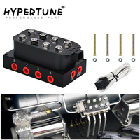 Hypertune   Universal Air Ride Suspension Manifold Valve 1/4 1/8npt Fast Air Bag Control fbss (0 300psi) HT ESV02