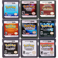 Voor Nintendo Ds Game Cartridge Console Card Pokeon Serie Zwart Wit Heartgold Soulsilver Diamant Parel Platina R4 Versie 3DS