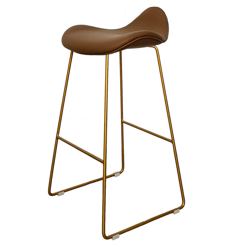 Nordic High Stool Home Bar Stool High Foot Net Red Bar Stool Front Chair Bar Chair Modern Minimalist Bar Chair