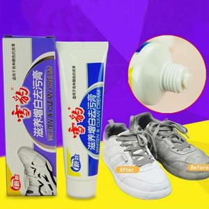50g White Sports Shoes Whiten&Clean Cream Shoes Furniture Natural Water free Organic Cleaning Maintenance Anti mildew Cream|Leather Cleaner|   -