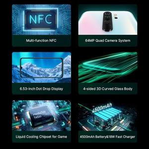 "Image 5 - Wersja globalna Xiaomi Redmi Note 8 Pro 6GB 64GB Smartphone 64MP Quad Camera Helio G90T 4500mAh NFC telefon komórkowy 6.53 ""DotDisplay"