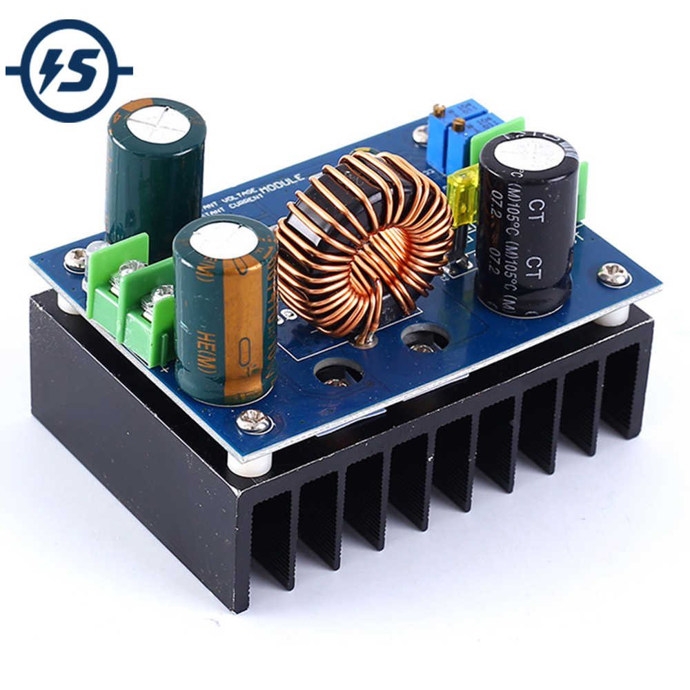 Step UP Converter Boost Module <font><b>DC</b></font>-<font><b>DC</b></font> 600W CVCC High Power Supply Module <font><b>8V</b></font>-60V <font><b>to</b></font> <font><b>12V</b></font>-80V Support Solar Charging image