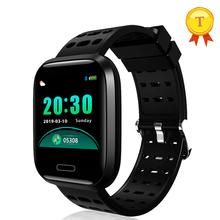 Smart watch Bluetooth tętna Monitor ciśnienia krwi sport Smartwatch Fitness Tracker inteligentne elektronika urządzenia przenośne tanie tanio TOPTRONICS Passometer Uśpienia tracker Wiadomość przypomnienie Przypomnienie połączeń Pilot zdalnego sterowania Ciśnienie krwi