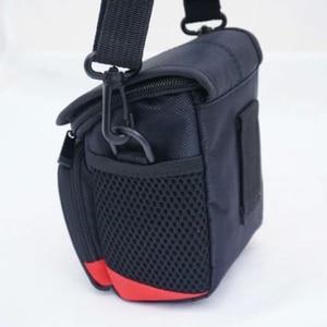Image 3 - M5 sac avec pochette 15 45mm lentille noir double way zipper design noir appareil photo pour Canon EOS M100 haute qualité