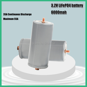 Brand used 32650 6000mAh 3.2V lifepo4 Rechargeable Battery Professional Lithium Iron Phosphate Power Battery with screw