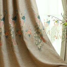 Высокая тень занавес для гостиной на заказ европейские ткани спальня
