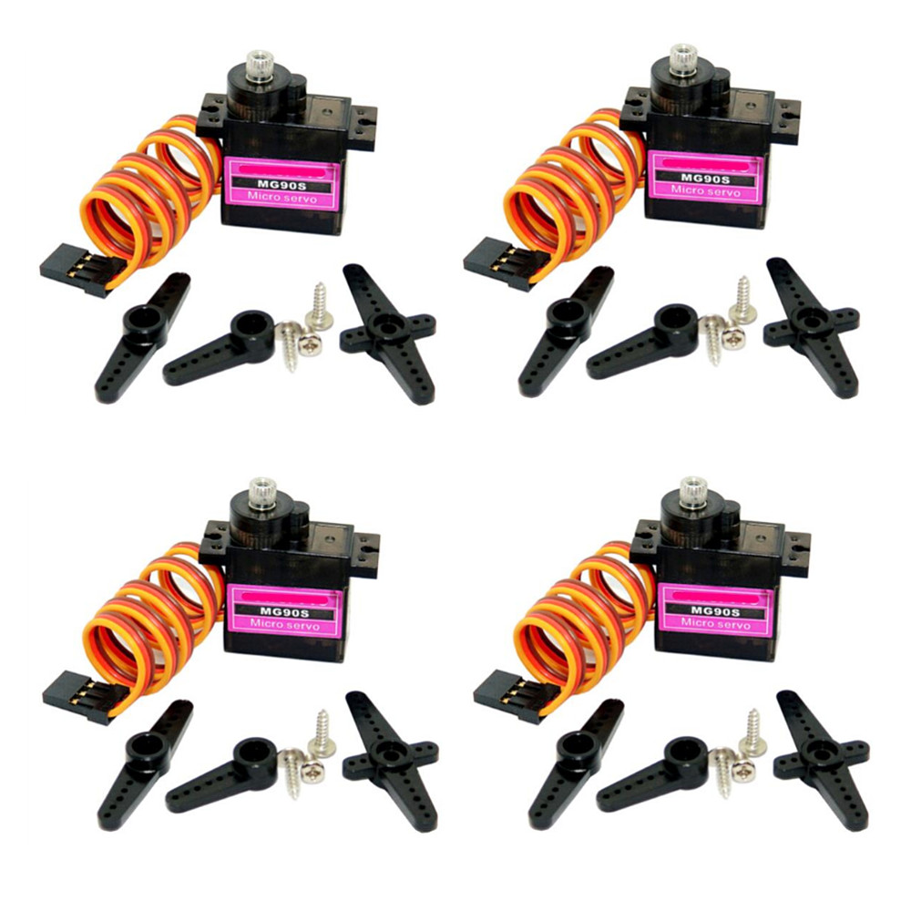 5/10pcs lot Mitoot MG90S Metal gear Digital 9g Servo SG90 For Rc Helicopter pPlane Boat Car MG90 9G-in Parts & Accessories from Toys & Hobbies