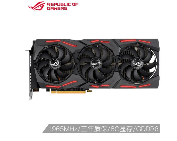 ASUS ROG-STRIX-RX5700XT-O8G-GAMING OC 1770-1965MHz Raptor Game Graphics 8G