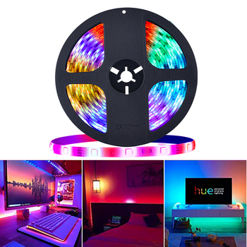 RGB LED Strip Light dream color 12V SMD5050 5M LED light strip with IC Smart Color Changing Waterproof Addressable tape lighting