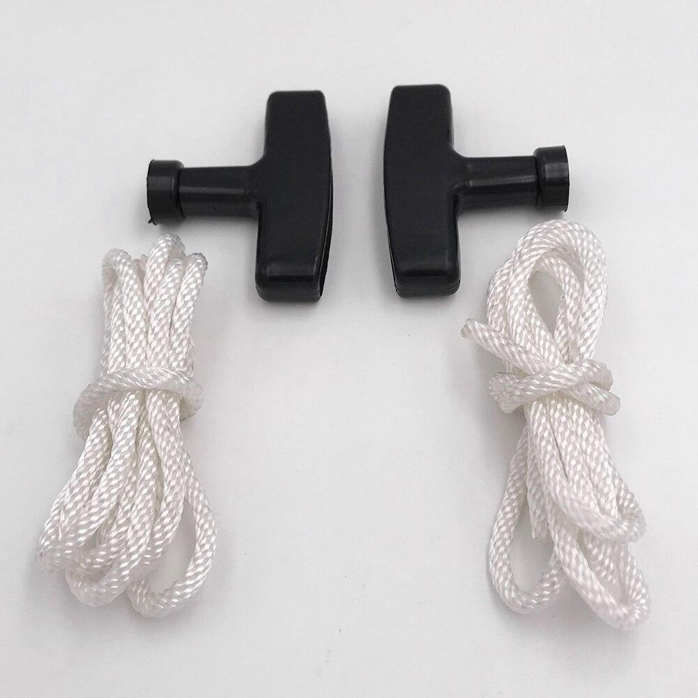 Recoil Starter Grip Rope Kit For HONDA GX100 GX120 GX160 GX240 GX270 GX390 Motor Starter Handle Grip Starter Rope