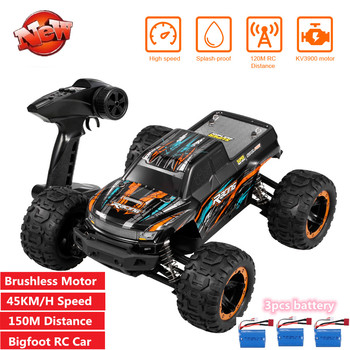 Electric 1/16 4WD 45KM/H High Speed remote control RC Car Brushless Motor 150M RC distance RC Crawl Off-road Racing car Gifts image