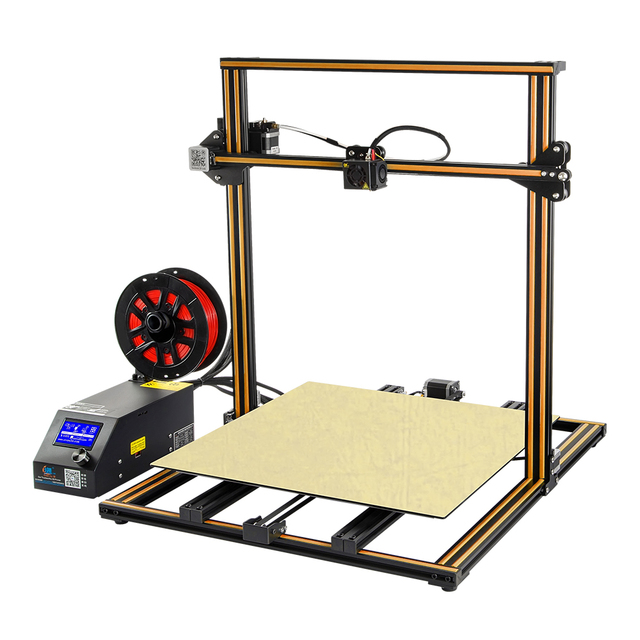 Creality CR-10S5 3D Printer Large Printing Size 500*500*500mm Semi DIY 3D Printer Kit Aluminum Heated bed Free Filament Enclosed 1