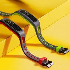 Image 4 - Oryginalny Huawei Honor Band 4 wersja do biegania inteligentna opaska na nadgarstek klamra do butów wpływ na ziemię profesjonalna porada snu Snap