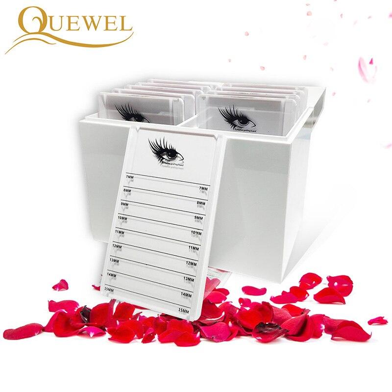 Eyelash Storage Box Display Stand Acrylic Box Holder Grafting Eyelashes Extension 10 Layers Makeup False Eyelash