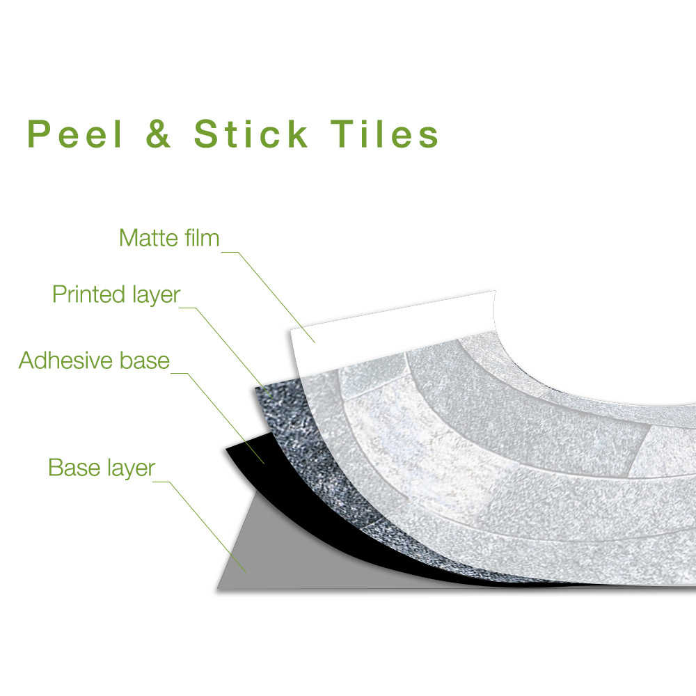 14pcs black brick bathroom diy self adhesive kitchen tile stickers wall floor decor home tile sticker dropshipping