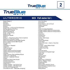 Image 3 - HOBBYINRC 813 Games True Blue Mini Ultradrive Pack for Genesis / for MegaDrive Mini 2019 New Arrival 2 player Games