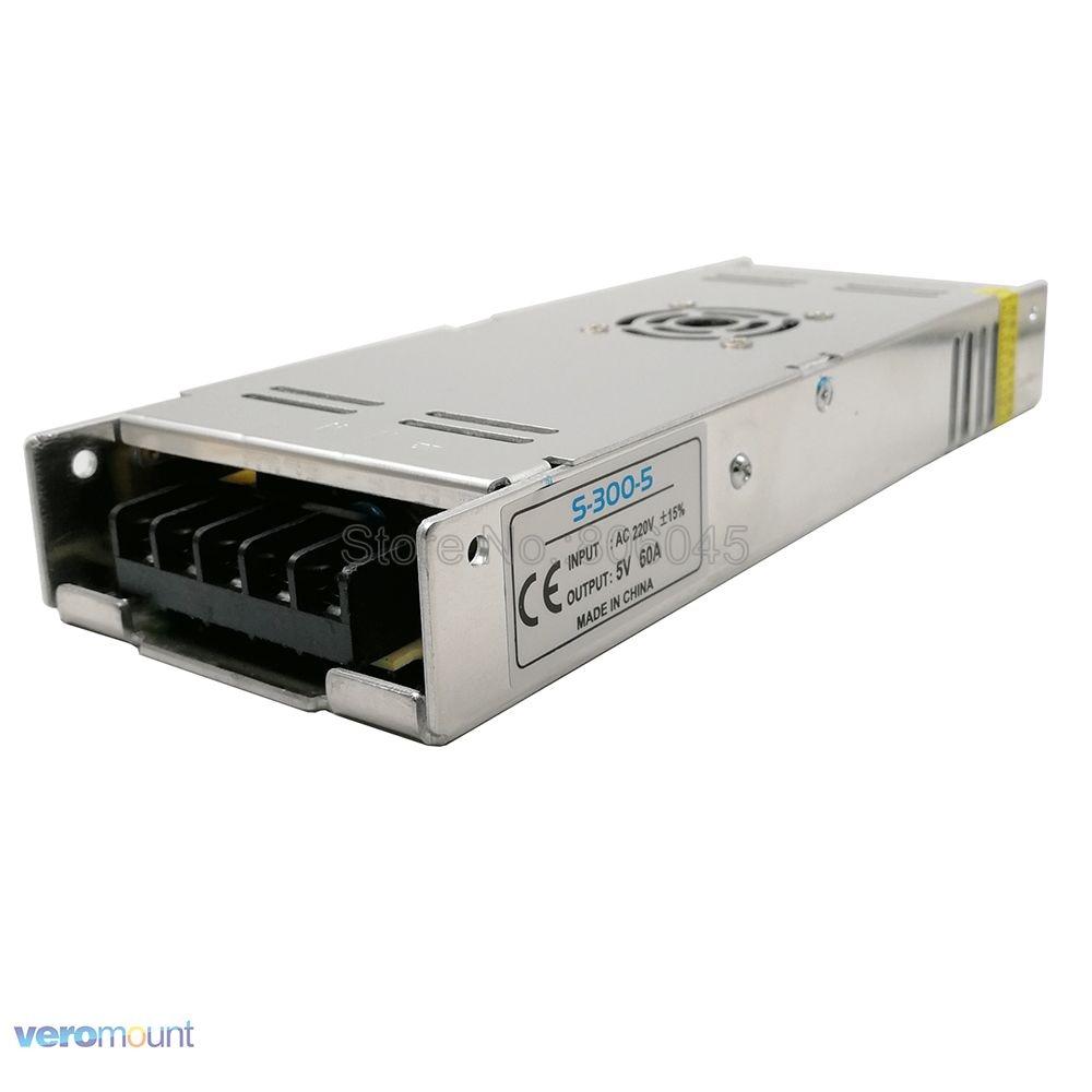 Ultra Dünne Schalter Netzteil DC 5V Beleuchtung Transformatoren AC220V zu DC5V 4A 20A 30A 40A 60A LED Konverter fahrer Für LED Streifen