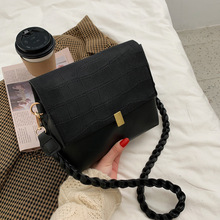 Women's Bag French Square-Bag Messenger-Bag Versatile Small Single-Shoulder New-Fashion