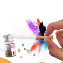 100 sztuk/paczka unikalny papieros wyskakuje koraliki owoce smak miętowy smak uchwyt na papierosy akcesoria do palenia mężczyzn papieros...