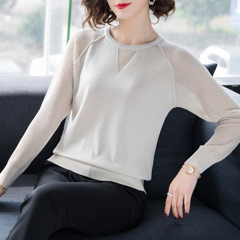 Gkfnmt Vintage Women Sweater Slim Knitted O-Neck Solid 2019 Fall Winter Fashion Sweater Women Pullovers Pink Beige Black