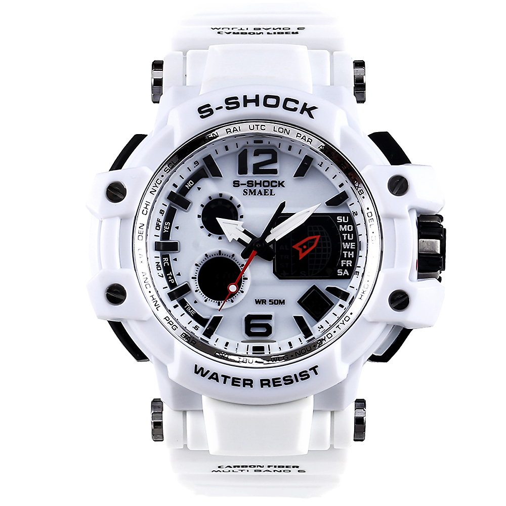 New Sport Brand Fashion Watch Men's LED Digital Watch G Outdoor Multi-function Waterproof Military Sports Watch Relojes Hombre