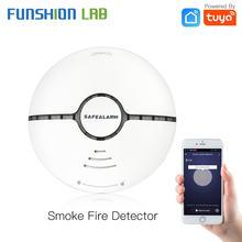 Wi fi Смарт дыма пожарной сигнализации Сенсор детектор домашней