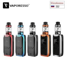 Original Vaporesso vengador 220W Kit con 2ml de NRG Mini tanque Max 220W y OMNI Junta 2,0 Chipset kit de Vape de batería e-cig No 18650(China)