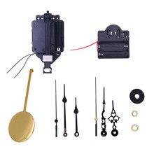 Pendule à Quartz avec 2 paires de mains et pendule, boîte à musique