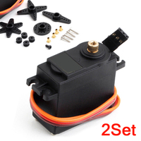 MG995 55g Metal Sandard Servo Motor MG995 Steering Gear 360 Degree RC Servo Moto for RC Helicopter/Car/Boat