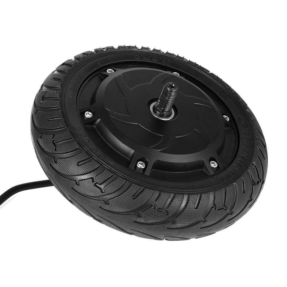 Мотор + передние комплекты колес для KUGOO S1 складной электрический скутер-черный