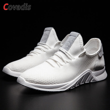 Hot Sale Comfortable Jogging Sports Shoes Outdoor Running Sneakers Men Light Weight Breathable Mesh Athletic Trainers Shoes hot sale running shoes for men professional conshioning mens sports shoes breathable mesh athletic sneaker shoes size46 xrmb001