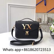 Preto bolsa de ombro 2021 moda feminina designer bolsas qualidade superior crossbody sacos correntes saco de náilon preto 16